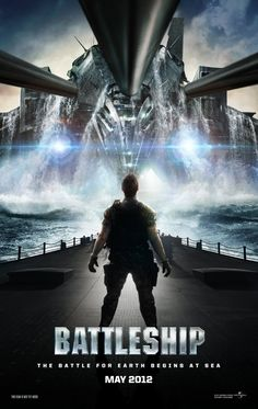 Battleship...The action will pit a small fleet of naval ships against an alien force intent on enriching Earth's valuable assets to ensure their survival. Taylor Kitsch (Wolverine) and True Blood's Alexander Skarsgard star alongside Liam Neeson, Rihanna, and Brooklyn Decker...I thought it had alot of action, great story line, and some pretty amazing special effects