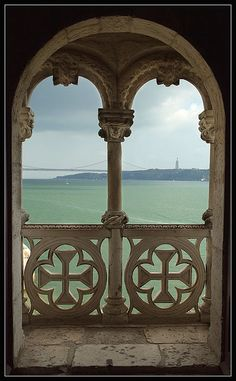 view from Belem's tower, Portugal
