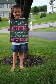 Printable Pregnancy Big Sister Announcement Photo prop // Pregnancy Reveal DIGITAL DOWNLOAD