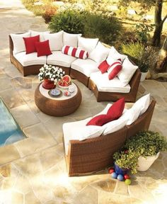 Love love love this patio furniture cathysutherland
