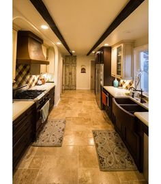 Large and luxurious kitchen design