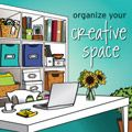 organize your creative space online workshop **updated link