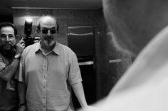El escritor británico Salman Rushdie.  VASCO SZINETAR