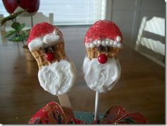 DIY Santa Nutter Butters - Kids Cooking Craft