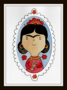 Frida Kahlo - Original Illustration