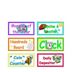 Bulletin Board Labels $3.50 for back to school!