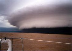 """Tsunami in the Sky"" Storm Cloud"