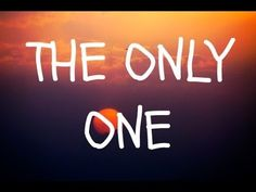 THE ONLY ONE_James Blunt