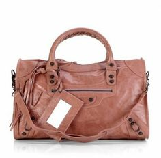 Balenciaga Motorcycle Bag 084332 Light Brown #Balenciaga #Handbags #Brown $338 , FOR MY HOLIDAY...
