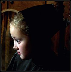 I love this photo of a beautiful little Amish girl in Holmes County, OH.
