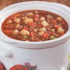 Beef Vegetable Soup Recipe