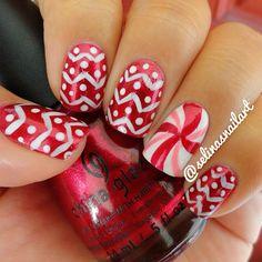 christmas by selinasnailart #nail #nails #nailart