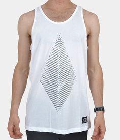 Driftwood White Vest