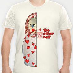 Matryoshka Hearts Right T-shirt