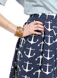 Anchor skirt