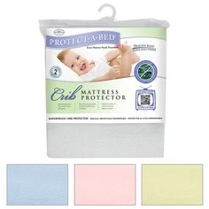 The Protect-A-Bed Premium Crib Protector uses the patented Miracle Membrane which serves as a barrier for dust mites and allergens. Sleep comfortable tonight.