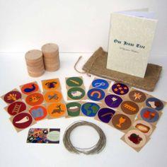 Jesse Tree Ornament Family Project Kit. $34.99, via Etsy.