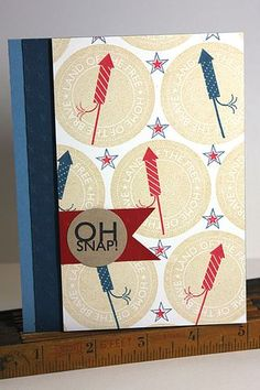 Oh Snap! Card by Heather Nichols for Papertrey Ink (May 2013)