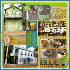 Blue Heaven by Karen_ @2peasinabucket using Words and PIctures 5 by Misty Cato