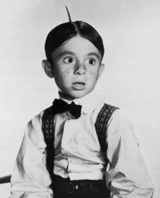 "Carl ""Alfalfa"" Switzer 1927-1959, shot during a fight."