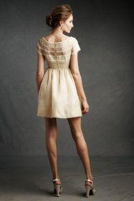 Bridesmaid dress.