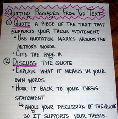 anchor charts for quoting | just trying to figure out if I want to introduce this early in ...