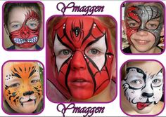 Caritas pintadas on Pinterest   Face Paintings, Kitty Cats and ...
