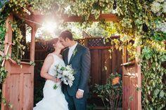 Country Rustic Wedding Couple