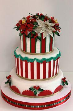 viorica's cakes: Tort Craciun cu craciunite