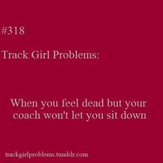 Track  Girl Problems