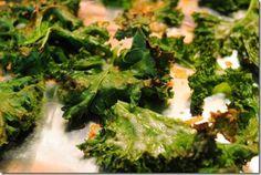 Kale Chips by Iowa Girl Eats