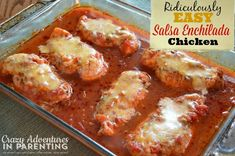 Ridiculously Easy Salsa Enchilada Chicken made with Young Living Lime Oil! Check it out! #youngliving #essentialoils #yleo http://crazyadventuresinparenting.com/2014/07/ridiculously-easy-salsa-enchilada-chicken.html