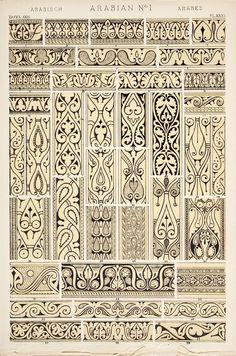 owen jone, pattern paper, doodl, arabian pattern, arabian ornament, jone 18091874, ornaments, art nouveau, grammar