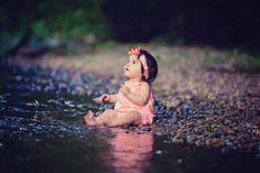 stream, water, magical, little girl, Lisa Karr Photography, Beloit Wisconsin, Find on Facebook