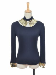 Anna-Kaci S/M Fit Two-Piece Black Long Sleeve « Impulse Clothes