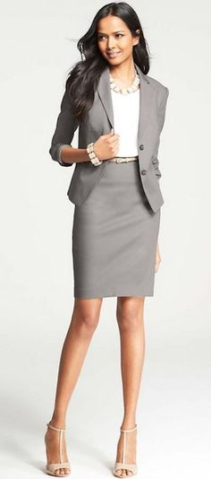 A fashionable yet conservative interview attire option to wear to your next interview. #interview #fashion #wardrobe