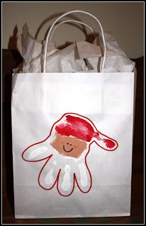 super cute! This would be so fun on parent gift sacks.