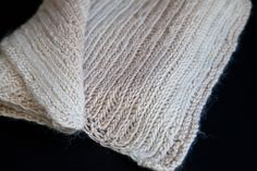 Knit Herringbone Scarf Pattern | Steamy Kitchen Recipes