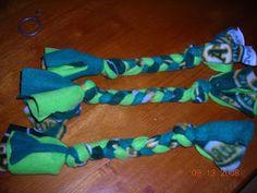 Rad Linc Crafts: Fleece Rope Dog Toys