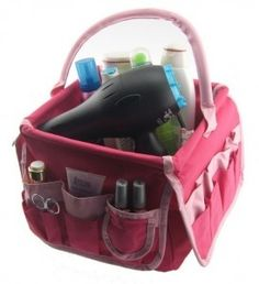 Use a craft caddy (I found mine at hobby lobby) for hair supplies (ie blow dryer, hair spray, etc) got this idea from @Kimberly Peterson McKnight. Loved for girls dorm