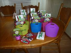 """My Girl Scouts are bridging to Juniors today. My gift to them symbolizes their journey from """"Daisies"""" to """"Brownies"""" and now over to """"Juniors""""!"""