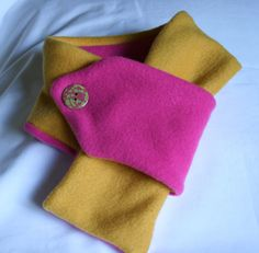 Splash of Pink Blizzard Fleece Scarf
