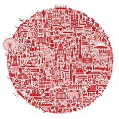 london calling print by nickprints | notonthehighstreet.com