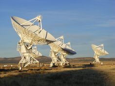 The Karl G. Jansky Very Large Array (VLA) is a radio astronomy observatory located on the Plains of San Agustin, between the towns of Magdalena and Datil, about fifty miles  west of Socorro, New Mexico, USA.
