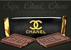 wow...chocolate and Chanel! ♥
