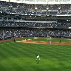 The New York Yankees Stadium. Bronx, NY.