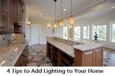 4 DIY Tips to Add Lighting to Your Home- So easy and REALLY inexpensive