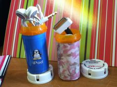 Prescription bottles work great for small cords and ear buds. Easier to find them in my purse too!!