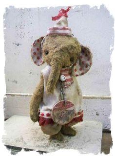 Whimsical elephant!