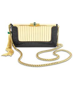 The ultimate arm candy by Gucci      #accessories #accessory #jewelry #statement #handbag #bag #clutch #gold